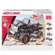 Meccano Core - zestaw 25 modeli - pojazd ciężarowy