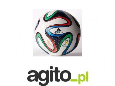 531eeafd254a Piłka nożna ADIDAS Brazuca ORYGINALNA rozmiar 5 - 4300702268 ...