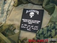 Naszywka BLACKWATER 100 Metrów Rzep SWAT 101 Inc.