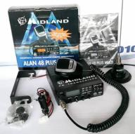 CB MIDLAN ALAN 48 PLUS MULTI antena HUSTLER IC100