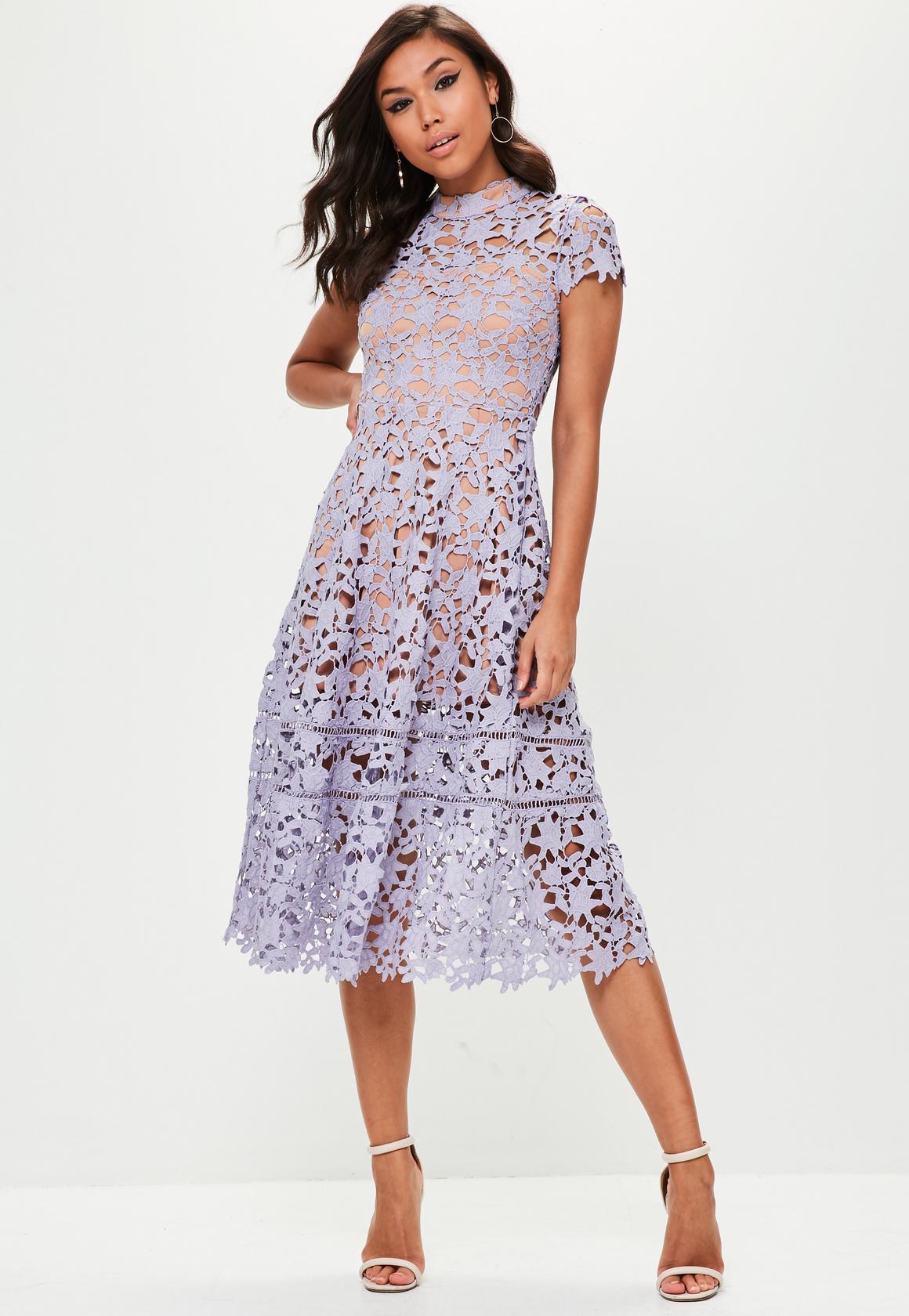 b990bc07a2d94f ASOS koronkowa sukienka rozkloszowana self 38 M - 7008234284 ...