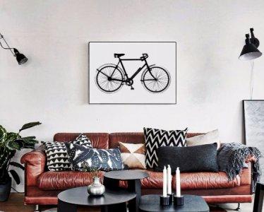 Plakat 50x70 Rower Styl Skandynawski Loft Bw 6059347684