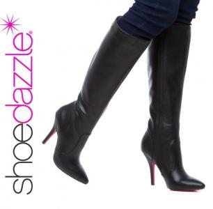 b2817fbbe66c7d OKAZJA Super kozaki Shoedazzle Darya czarne r. 38 - 4756641621 ...