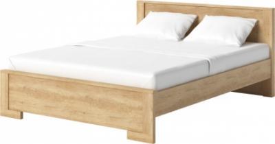 łóżko Nebraska Dąb Sonoma Agata Meble 5907144942