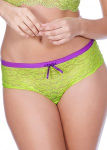 241H* Freya Fancies Green Hipster Short r. S