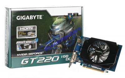 GIGABYTE GeForce GT220 1024MB 128BIT DDR3 625/1600