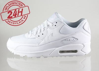buy online 37679 296fb Nike Air Max 90 mod 259 WYPRZEDAŻ BIAŁE