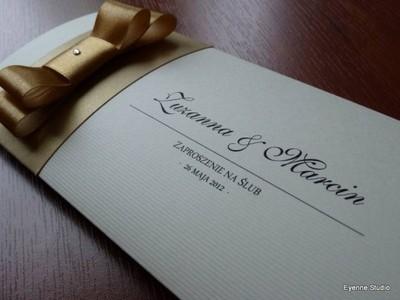 Zaproszenia ślubne Wzór Alice Eleganckie Promocja 5977179111