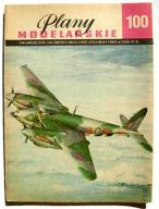 Plany Modelarskie PM 100 DH Mosquito