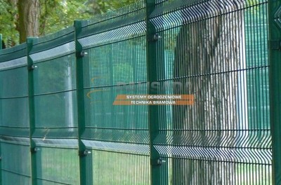 Ogrodzenie Ogrodzenia Panelowe 1 23m 4mm Oc Ral 6165779034 Oficjalne Archiwum Allegro