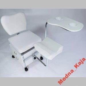 Fotel Kosmetyczny Pomocnik Do Pedicure I Mani Fv