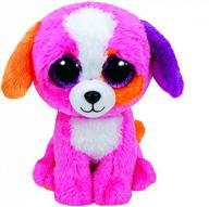 Maskotka Beanie Boos różowy pies Precious 15cm