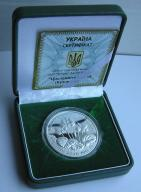 Ukraina 2014r. 10 hrywien - Cyklamen (srebro)