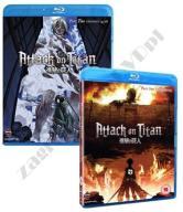 Shingeki no Kyojin [4 Blu-ray] Attack On Titan 1-2