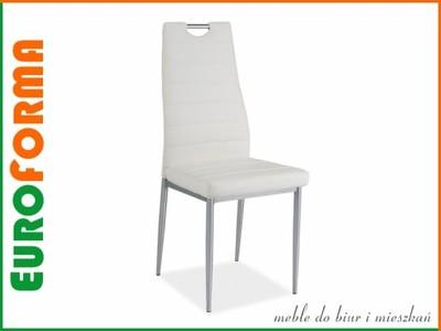Krzesło H 260 biały salon Signal 48H NOWOŚĆ!