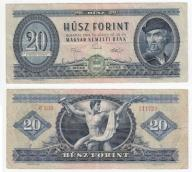 356(22b) - Węgry,20 Forint 1969