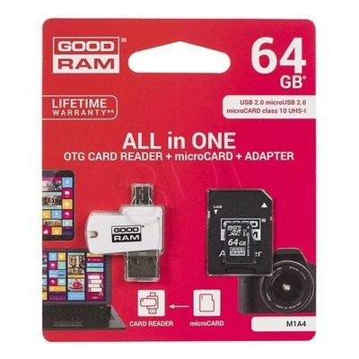 Goodram micro SDXC All in One 64GB Class 10,UHS Cl
