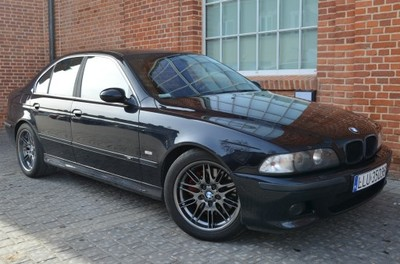 Bmw M5 E39 Zdrowa V8 Navi Carbonschwarz Warto 6742347477 Oficjalne Archiwum Allegro