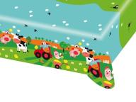 Obrus Farma - 120x180 cm - 1 szt Urodziny Party