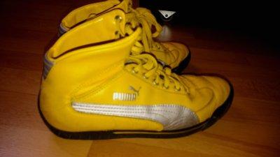 Buty Puma żółte 24 cm rozmiar 38 37.5