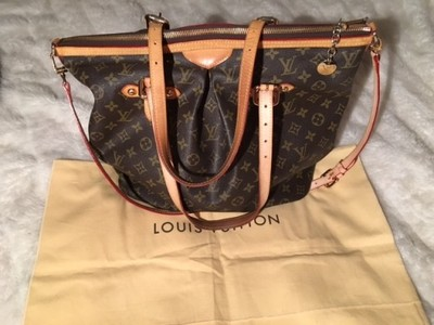 79a2bed66a609 Louis Vuitton Palermo GM torebka shopper tote - 6641990875 ...