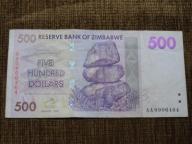871.ZIMBABWE 500 DOLARÓW