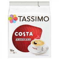 TASSIMO Costa Americano 16 T DISCs (Pack of 5, Tot