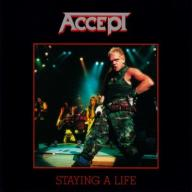 Accept - Staying A Life 2xCD ALBUM