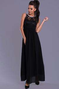 b911cf4d14 38(M) czarny sukienka maxi długa 7815-3 - 5209645829 - oficjalne ...