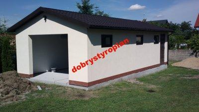 Tynkowany Ocieplony Garaż Bez Zezwolenia Montaż8h 6335663294