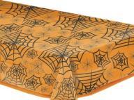 Obrus przezroczysty Pajęcza Sieć 270x140 Halloween