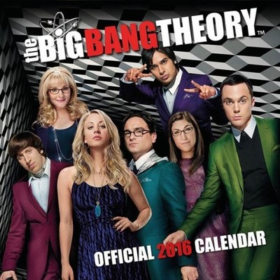 BIG BANG THEORY - kalendarz 2016 r.
