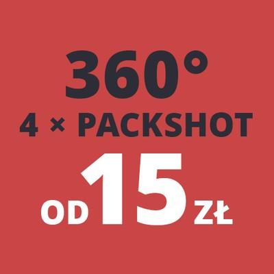 Fotografia produktowa obrotowa 360 3d Packshot