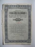 OBLIGACJA II RP 1936 r KONSOLIDACYJNA 1000 -OKAZJA