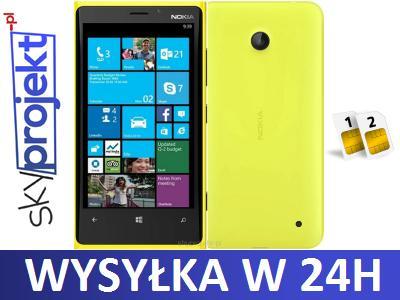 Nokia Lumia 630 Dual Sim Zolty Rm 978 Fvat 23 5297202594 Oficjalne Archiwum Allegro