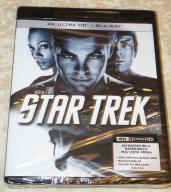Bluray + Bluray 4K UHD HDR : Star Trek
