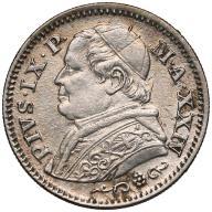 303. Watykan 10 soldi 1869-R st.~2
