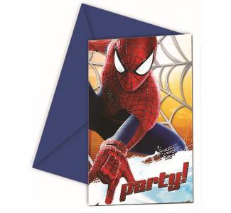 Zaproszenie Na Imprezę Urodziny Dziecka Spiderman 5601252775