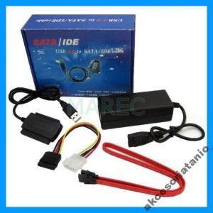 ADAPTER PRZEJŚCIOWKA USB 2.0 na IDE 2,5 3,5 SATA.