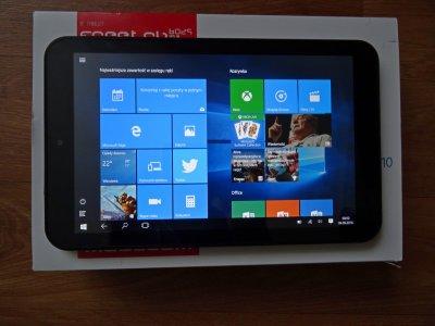 Tablet Modecom 8025 Win10 + karta pamięci 16GB