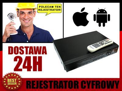 Monitoring REJESTRATOR cyfrowy NAGRYWARKA 8_kamer