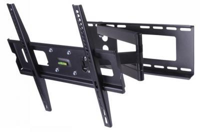 chwyt High Class do ściany 32-42 czarny LCD/PDP