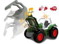 DICKIE Traktor Power Koparka z Dźwiękiem