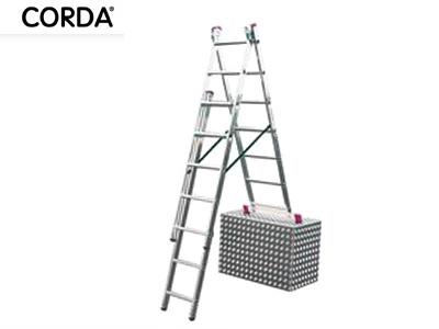Drabina aluminiowa 3x11 KRAUSE CORDA na schody 7,5