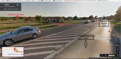 Działka Trakt Brzeski 1130m Warszawa 22 km Centrum