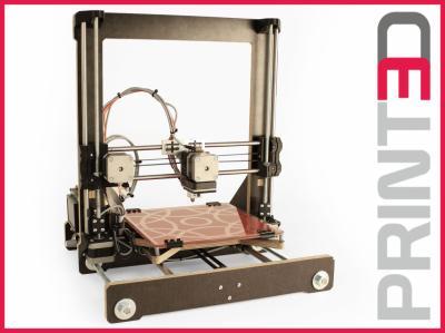 DRUKARKA 3D REPRAP PRUSA i3 REWORK BY PRINTED