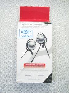 Słuchawki do PSP 2000 do Skype BCM