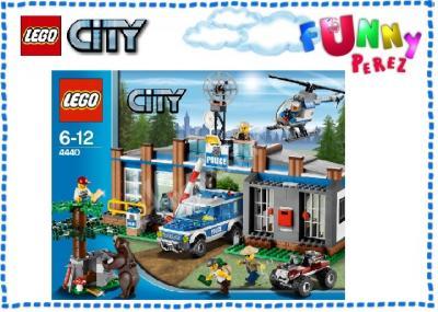 Lego City 4440 Leśny Posterunek Policji 3395293707 Oficjalne