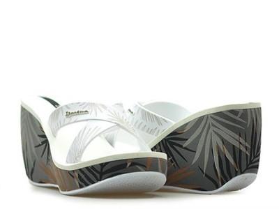 Klapki Ipanema 81934 Szare/Białe_38 Arturo-obuwie