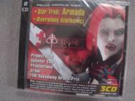 Płyta CD Action marzec 2003 folia Star trek Armada